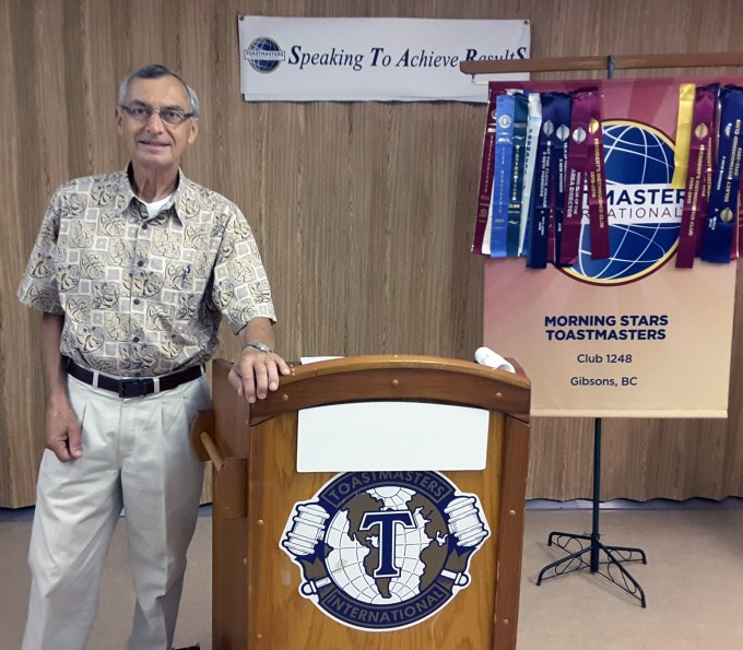 Frank Coldicott - Celebrating 50 Years of Toastmasters